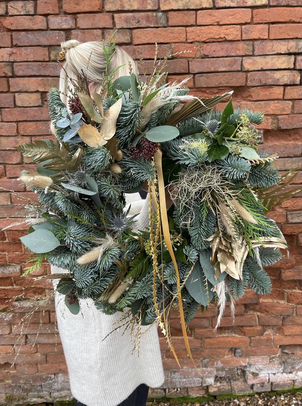 Wreath workshops at The Flower House